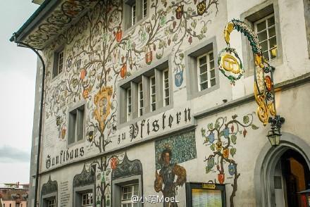 【瑞士】琉森:老城的墙壁会讲故事