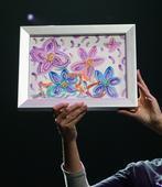布兰妮原创水彩画卖出1万刀
