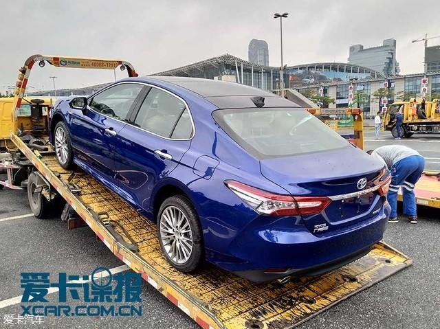 广州车展探馆:广汽丰田新凯美瑞抢先看