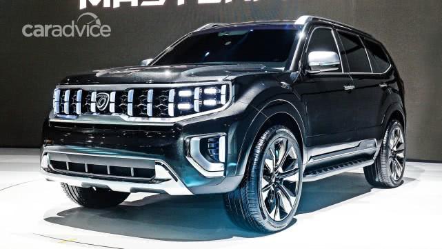 外观方正,新一代霸锐正式发布,身为起亚旗舰SUV将对标汉兰达