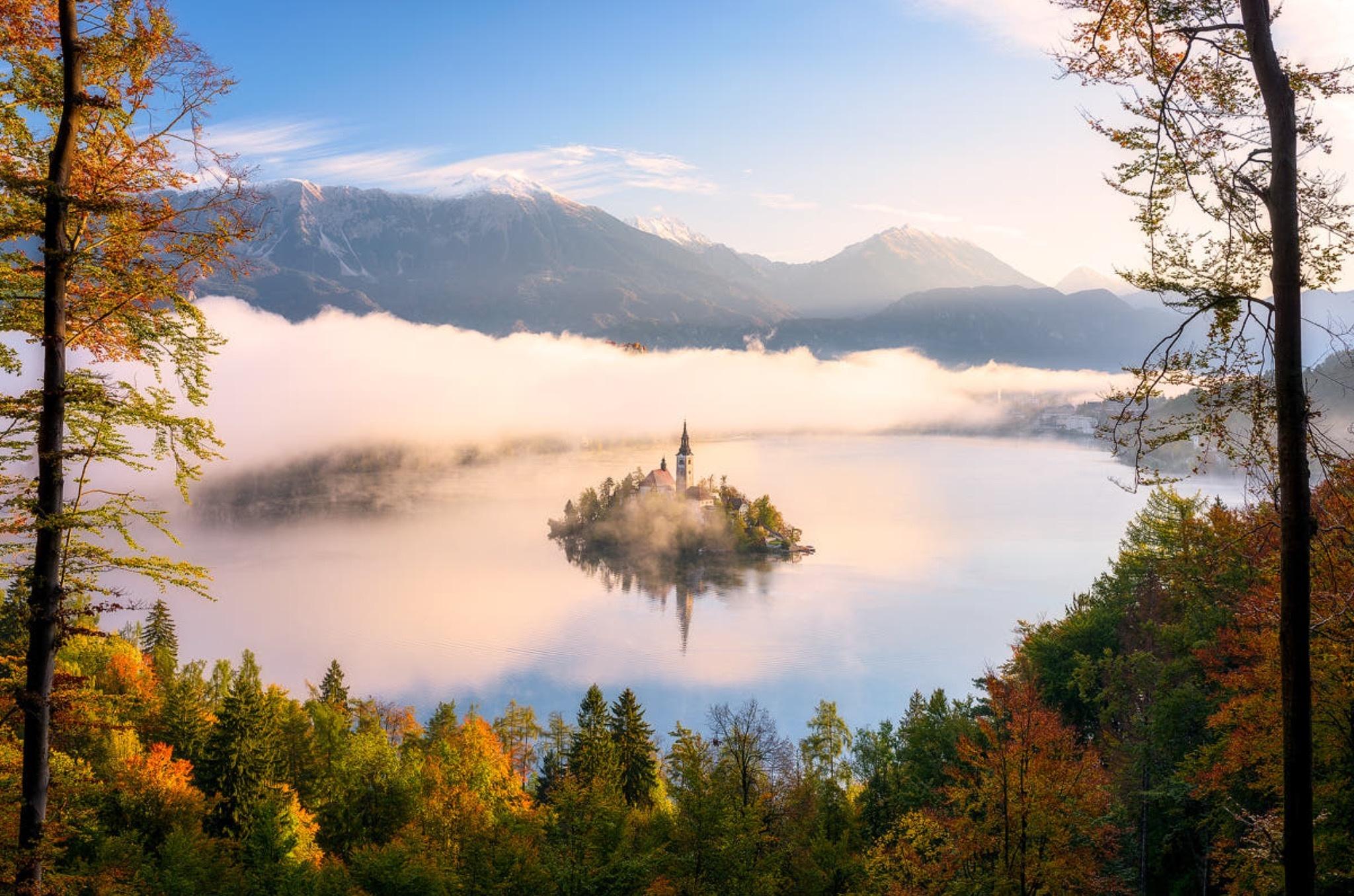 斯洛文尼亚 布莱德湖