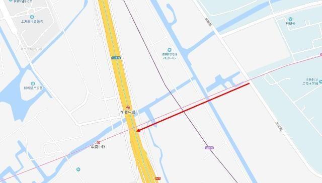 上海地铁13号线与16号线换乘站东侧的中科路要贯通,直通张江中区