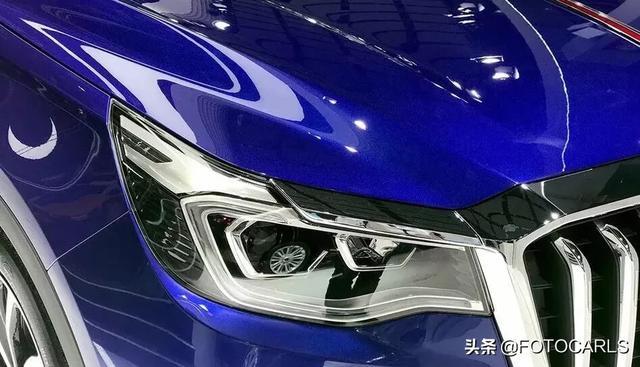 实拍|全新红旗HS7实车,全国首款V6,这颜值能吊打Q5?