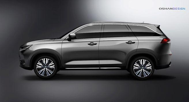 紧凑级SUV长安欧尚X7官图曝光 有望今年秋季上市