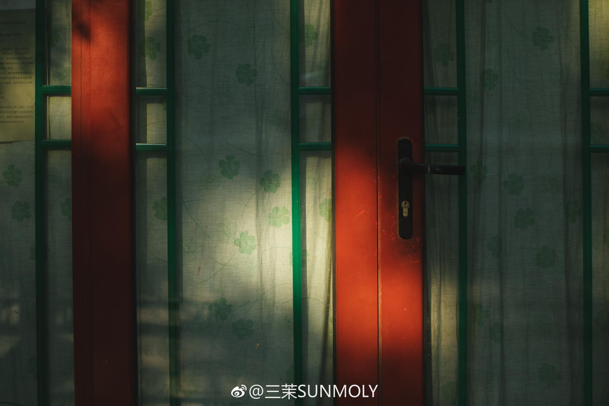 夏天外拍时摄影师拍的北京空景图