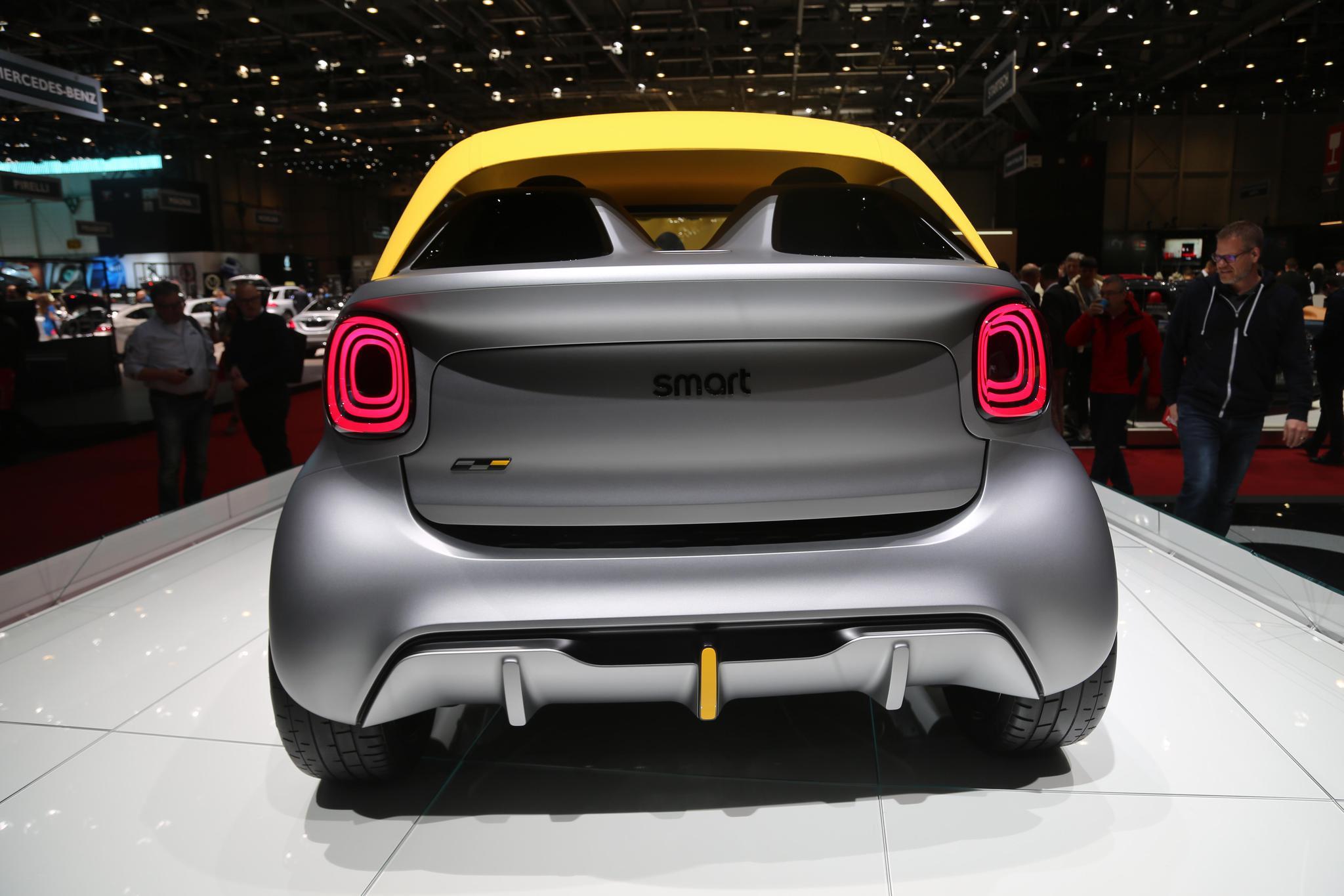 ARCFOX概念车、Smart概念车、Tata概念车,你选谁?