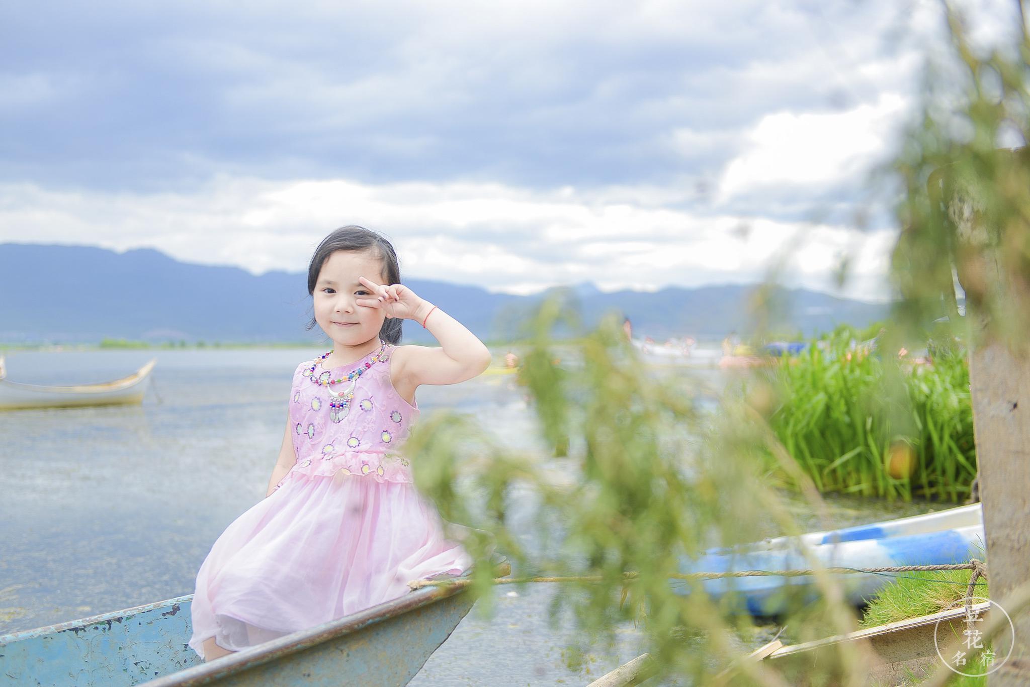 六月的拉市海,儿童节快乐