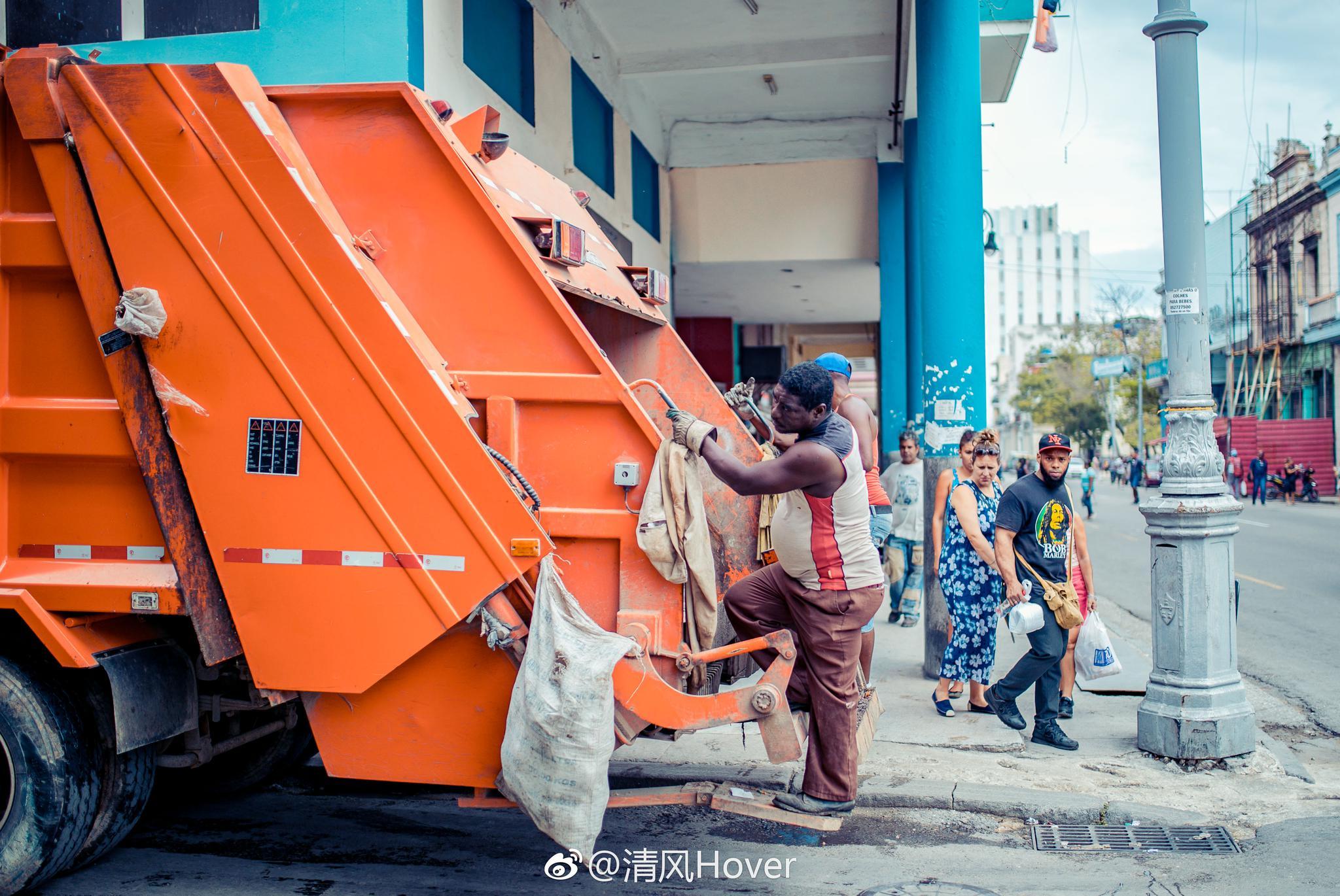古巴 哈瓦那的街巷生活