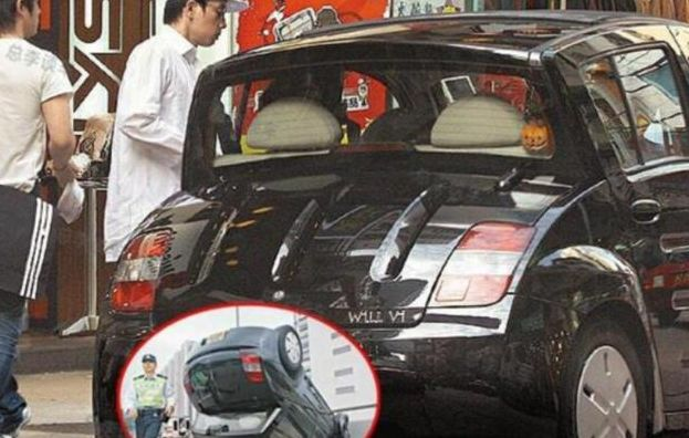 陈小春吐槽应采儿11年不许换车,一看旧车,网友:不让换是对的