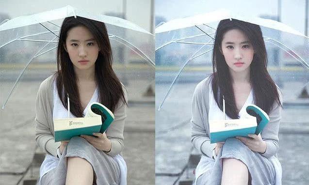刘亦菲拍写真,原图比精修图还好看,网友:碾压众网红!