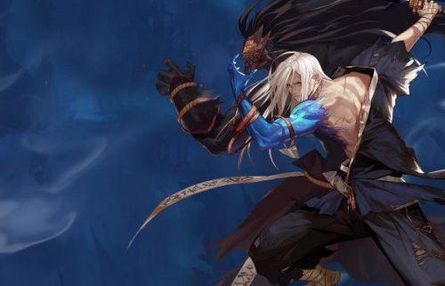 DNF:91级鬼剑士手持+旧时候的武器,该账号的持有人他是他