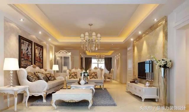 10款欧式客厅装修方案,总有一款适合您!