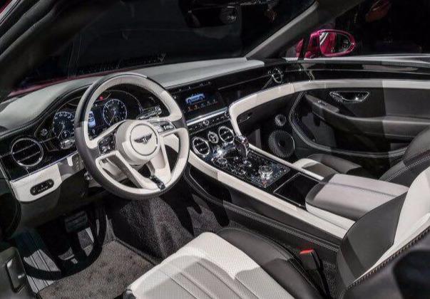 6.0T大心脏,外观优雅高贵,全新宾利欧陆GT敞篷版