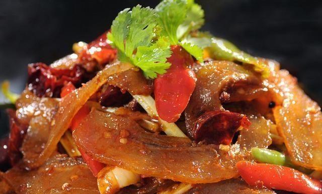 椒盐v椒盐毛豆炒美食牛筋杏鲍菇香辣火腿蒜苔长芽了能吃图片