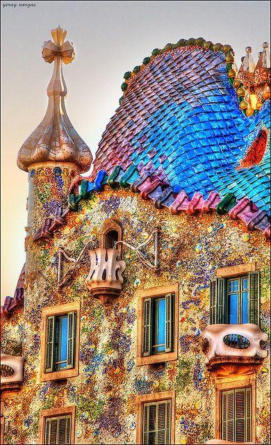 巴塞罗那那些有生命的建筑