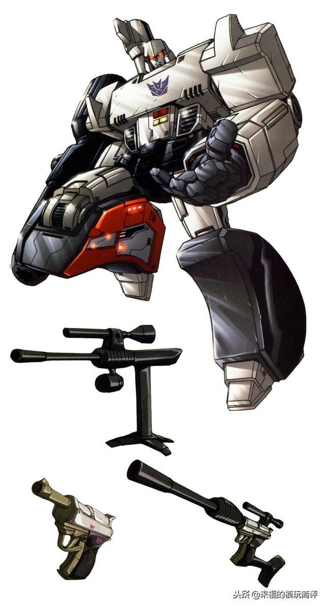 G1「霸天虎」领袖:威震天惊破天,震荡波,六面兽,萨克巨人