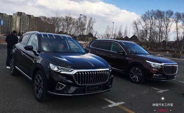 能与国外豪车品牌对抗的国产中大型豪华SUV—红旗HS7到店实拍
