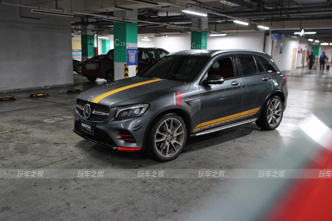 奔驰GLC43 AMG 3.0T 刷ecu动力升级 潮范十足!
