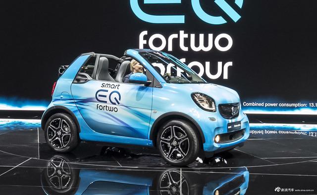 实拍 smart EQ forfour 工况续航里程为155km