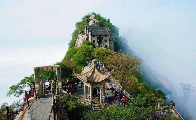 国内游:西安古都,骊山风景名胜旅游区,长安古寺庙,华山旅游区