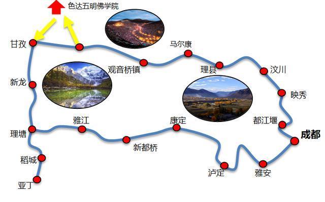稻城亚丁旅游攻略:川西大环线,行程住宿,注意事项,费用明细!