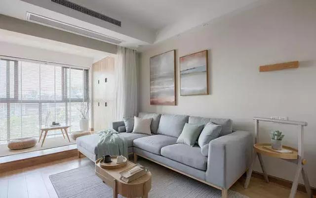 100平方简约北欧装修风格案例介绍,纯白 暖色调,温馨又甜蜜