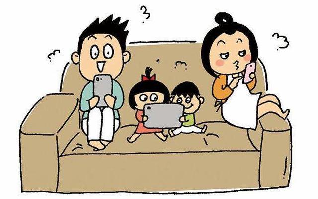 做法玩手机变脸多,好多漫画躺枪,父母下面小孩被狂赞惊悚家长:危害图片