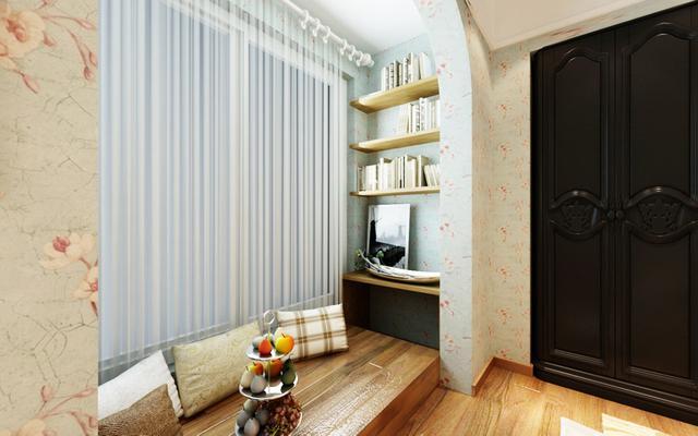 阳台和客厅不要做隔断门了,头次见有钱人这样设计,真的太实用了