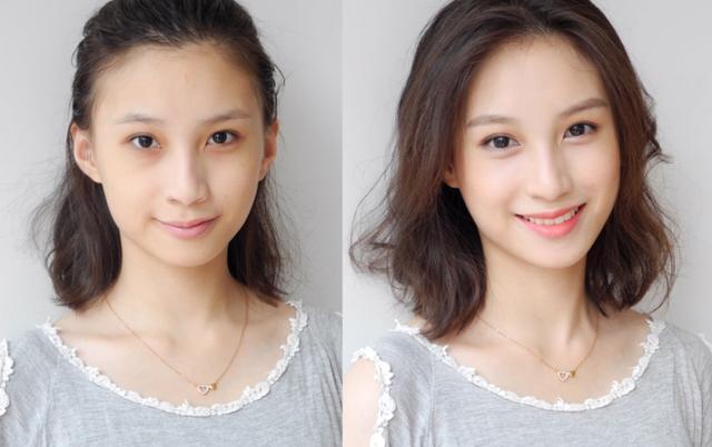 每种脸型都有专属发型,圆脸不适合直发,国字脸这个发型变女神