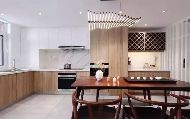 56平小户型二居室新中式风,沙发背景墙我给100分!图片