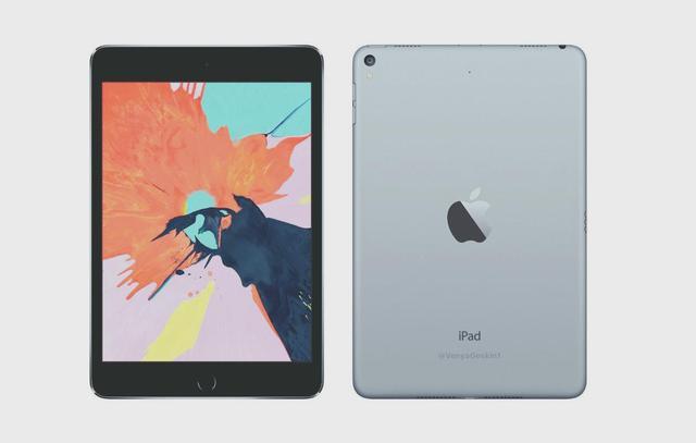 时隔四年,ipad mini5终将迎来更新:无边全面屏+全方位