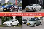 9月20-25万欧系两厢车型口碑排行揭晓,DS 4S领跑