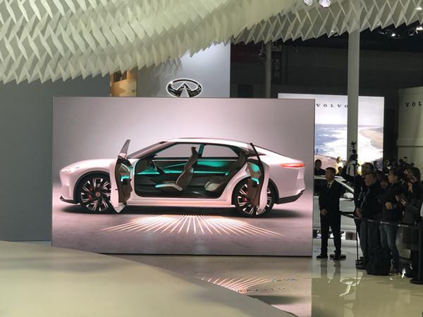2019上海车展 | 英菲尼迪Qs Inspiration概念轿车正式亮相