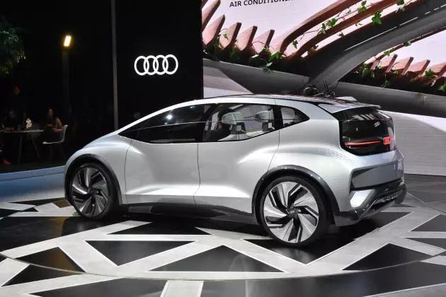 奥迪纯电驱动AI:ME概念车全球首秀,将搭载L4级自动驾驶技术