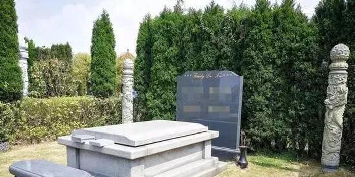 ▲2018年4月2日 ,贵州省贵阳市清镇(县级)市红枫艺术陵园的一处豪华墓地。图来自新华社