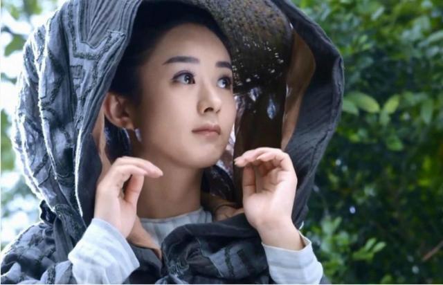 女星古装戴斗笠,赵丽颖最萌,刘诗诗恬静,她却最帅