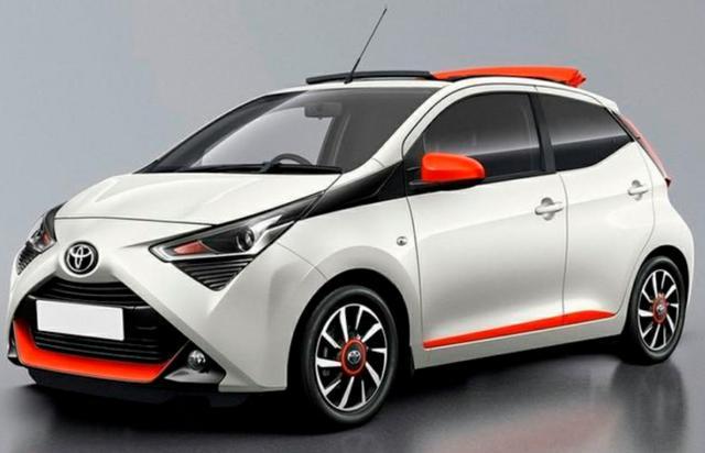 小型节能车,丰田发布Aygo特别版官图