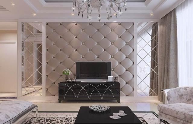 电视背景墙设计得好,客厅颜值翻倍根本不是问题,可见电视背景墙对