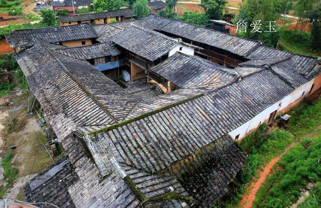 福建安溪蓝田99间土楼,彰显茶商的辉煌史,120多年的建筑魁宝