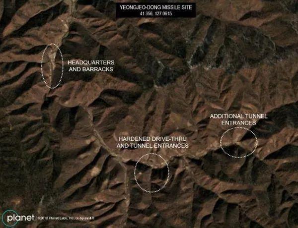 美国人又发现了朝鲜的新导弹基地?