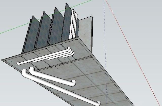 两组鱼池的设计图纸,细节详细,可做参考!图片