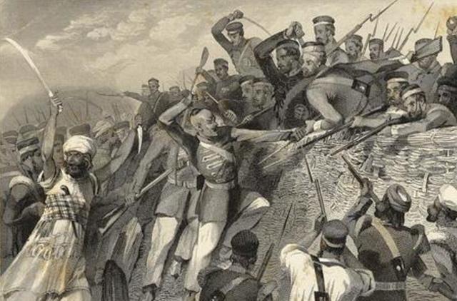 英国人百般压迫,印度人都没起义,直到他们用牛脂和猪油涂抹子弹