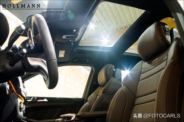 实拍|奔驰-AMG GLS 63极地白,它霸气你学不来,宝马X7怕不怕