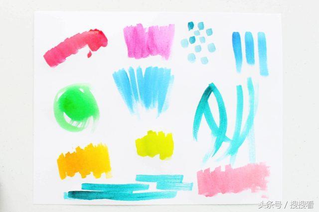 幼儿园绘画课:diy制作适合儿童安全水彩颜料来进行绘画!