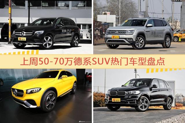 50-70万德系SUV车型中,奔驰GLC级关注度最高