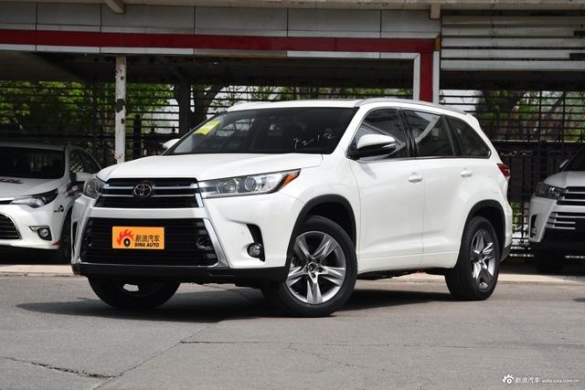 新车展台|新款丰田汉兰达 无可挑剔的7座SUV