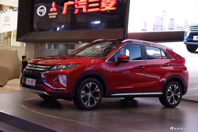 实拍|广汽三菱全新紧凑级SUV 奕歌
