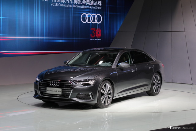 2018广州车展实拍:奥迪A6L