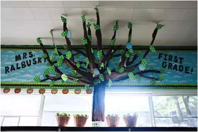 小小传承人:幼儿园环创幼儿园教室环创,把森林装进教室图片