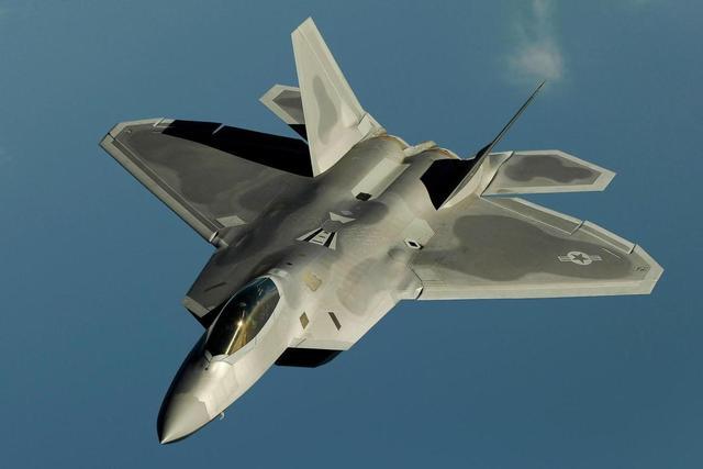 图美国f22猛禽战斗机